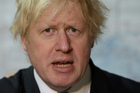 The Foreign Office confirmed there was a 'technical issue' with the aircraft carrying Boris Johnson. Photo / AP