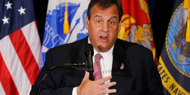 Chris Christie sacrificed everything for a job Trump didn't give him. Photo / AP