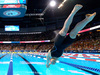 Katie Ledecky starts the women's 200-meter freestyle final at the U.S. Olympic swimming trials, Wednesday, June 29, 2016. Photo / AP.