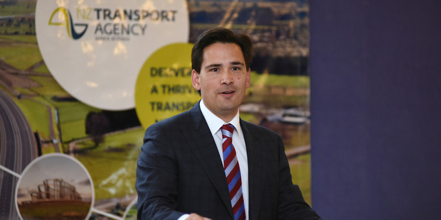 Simon Bridges ignored official advice and only consulted with the New Zealand Transport Agency about plans to allow electric cars to use bus lanes. Photo / File