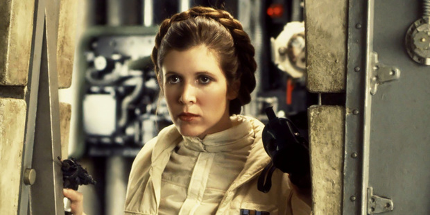 Carrie Fisher may have just disappointed a whole heap of Star Wars fans. Photo / Supplied