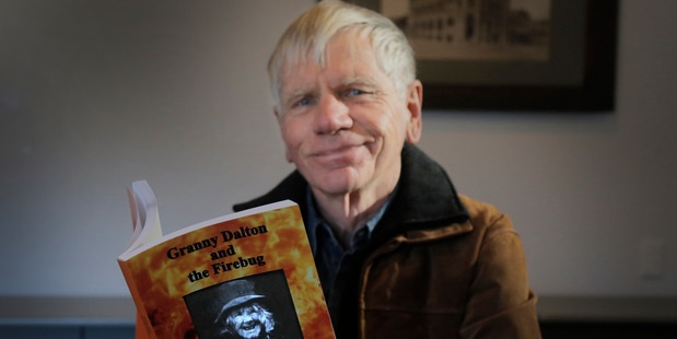 Author Murray Crawford will launch his latest book, Granny Dalton and the Firebug, on Saturday.