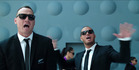 Israel Dagg and Stan Walker perform Men in Black, in the Air New Zealand safety video that tipped me over the edge. Photo / Supplied