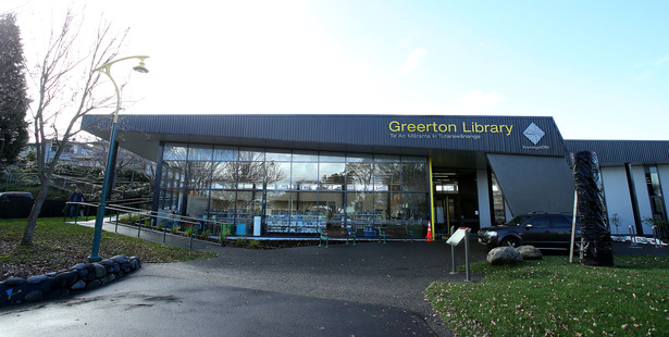 The new Greerton Library. Photo/File
