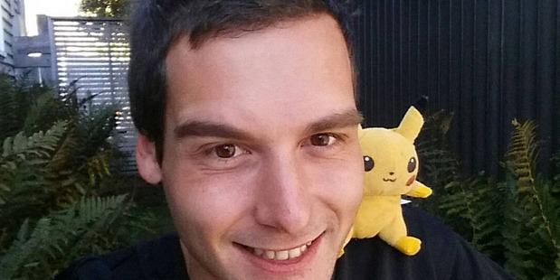 Tom Currie quit his job to travel around New Zealand playing Pokemon Go. Photo / Supplied