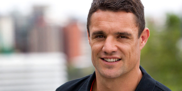 Dan Carter has revealed he enjoyed being an All Blacks fan for the first time since his retirement from international rugby. Photo / Jason Oxenham