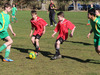 Wanganui Athletic's Under 11 players Ollie Hutchins with Jacob King finding a way around their bigger Ashurst opposition at last year's Open Junior Tournament.