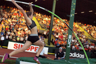 Eliza McCartney, New Zealand top's female pole vaulter. Photo / Supplied.