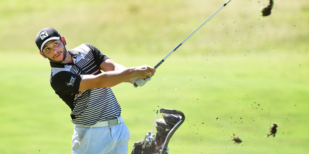 Loading UNBELIEVABLE: Luke Toomey hit a course record 58 at Tauranga Golf Club on Saturday. Photo/File  A_210216gn17BOP