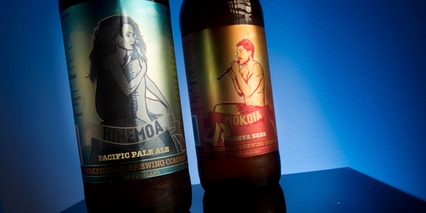 Loading The Auckland brewery which sparked controversy after putting images of Te Arawa legends on the beer bottles has apologised for any offence.  Photo/Stephen Parker