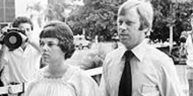 Lindy and Michael Chamberlain's nine-week-old daughter Azaria went missing from a camp site at Uluru in 1980. Photo / File