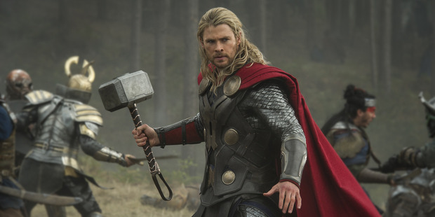 A bit of Taika-styled humour has been a long time coming for Thor, Hemsworth says.