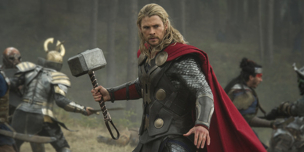 Chris Hemsworth is known as Thor so switching him to a comedic role makes him a scene-stealer.