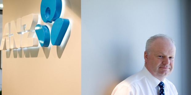 David Hisco, chief executive and managing director of ANZ New Zealand.  Photo / File