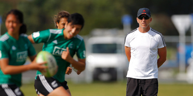 TOTAL FOCUS: Coach Sean Horan watches another training session held at Blake Park. PHOTO/FILE A_261114gn04BOP