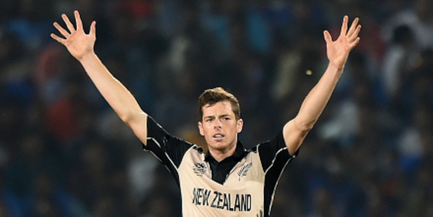 New Zealand's bowler Mitchell Santner. Photo / Getty Images