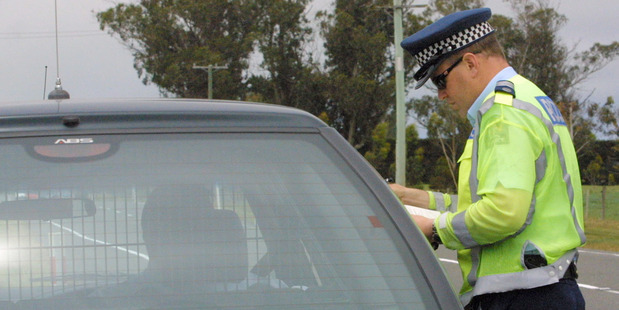 Police have handed out 20 tickets in the Bay for slow or inconsiderate driving since 2013, the least of any other region in the country.