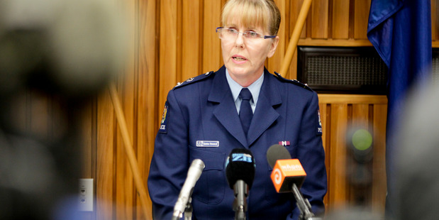 CELEBRATING: Eastern District Commander Superintendent Sandra Venables will take part in this week's torch relay to mark 75 Years of Women in Policing.  PHOTO FILE
