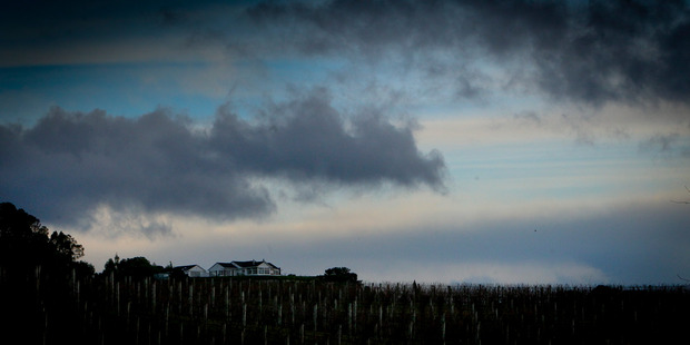 Brace yourselves - it's going to be a wild and windy week New Zealand. Hawke's Bay Today photograph by Warren Buckland.