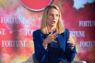 Chief executive Marissa Mayer says Yahoo will update shareholders as soon as is prudent.. Photo / Getty