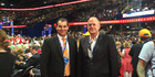 Bay of Plenty MP Todd Muller (right) and Botany MP Jami-Lee Ross at the Republican National Convention held in Cleveland, Ohio. Photo/supplied