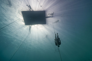 Freedive world champion William Trubridge will attempt to dive 102m into the oceans' deepest blue hole.