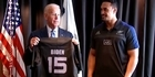 Watch: All Blacks present jersey to US Vice President Joe Biden