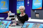 EXCITED: Unichem Stortford Lodge Lotto manager Nanette Woodham, has worked at New Zealand's luckiest Lotto store for 22 years. PHOTO/PAUL TAYLOR