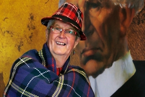 Mo Pettit, Waipu Art 'n Tartan Wearable Art Awards show production secretary, said the entries for this weekend's event left her amazed at the high standard of work. Photo / John Stone
