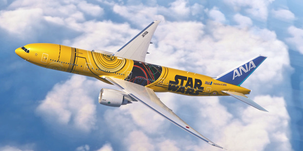 The C3PO jet will start flying domestic routes in Japan next year. Photo / ANA