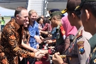 John Key is looking to Indonesia to diversify New Zealand's trade. Picture / Isaac Davidson