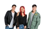 Northland dancer Kaea Pearce (centre) will be co-hosting a new Maori Television show, Grid, alongside Moorehouse star Brock Ashby and LA-bound model Tim Kiriwi.
