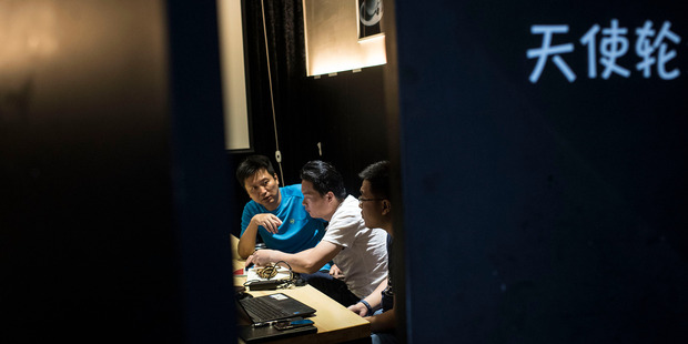 China's tech scene is flourishing in a parallel universe. Photo / Michael Robinson Chavez