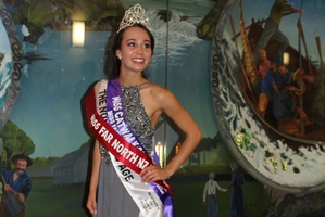 Last year's Miss Far North was Danielle Collings from Mangonui.
