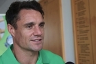 Dan Carter visited Waiheke High School to present the school with a $10,000 sports gear prize.