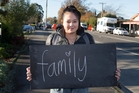 Courtney Douglas of Masterton, 17, shares her thoughts on being a New Zealander. Photo / Mark Mitchell