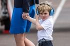 His Royal Cuteness turning three