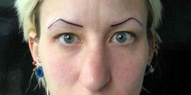 You'd hope cosmetic tattooing would improve your appearance. Photo / Imgur
