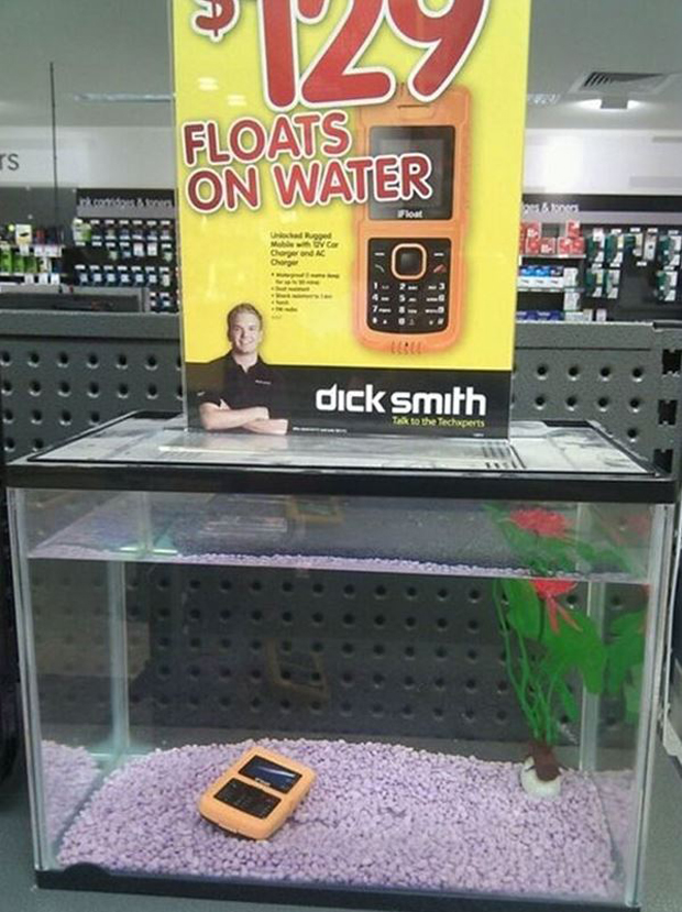 When your clever marketing plan goes terribly wrong... Photo / BoredPanda