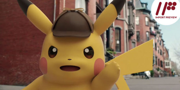 The movie will be based on the Detective Pikachu game released earlier this year.