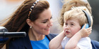 Prince George has had some memorable moments in the spotlight over his first three years. Photo / Getty