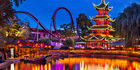 Copenhagen's Tivoli Gardens is one of the oldest theme parks in the world. Photo / iStock