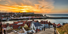 The newly-opened section of the England Coastal Path passes through the historic North Yorkshire town of Whitby. Photo / iStock