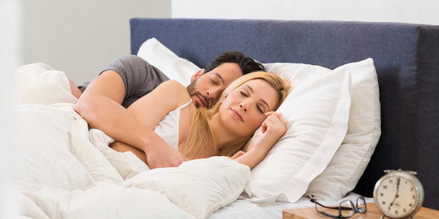 The latest study, in the Journal of Family Psychology, shows a good snooze is equally important. Photo / iStock