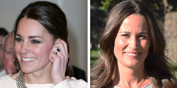 Loading As Pippa reveals her engagement ring, experts compare it to her sister Kate's. Photo / Getty