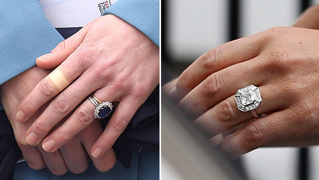 Kate's ring was an 80s hand-me-down ring from Prince William's mother, Diana. Pippa's mighty rock is valued at around  £200,000. Photos / Getty Images