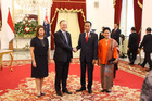 Prime Minister John Key and Indonesian President Joko Widodo agreed to