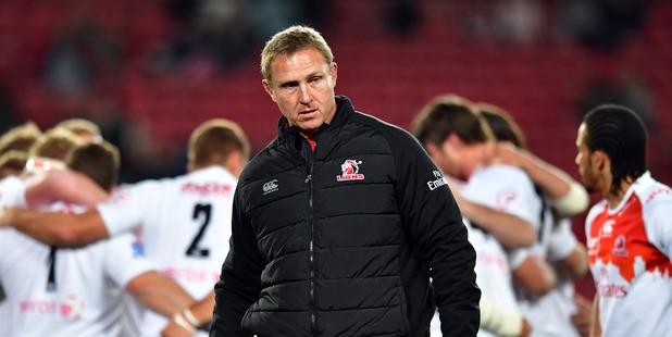 Lions coach Johan Ackermann. Photo / Getty
