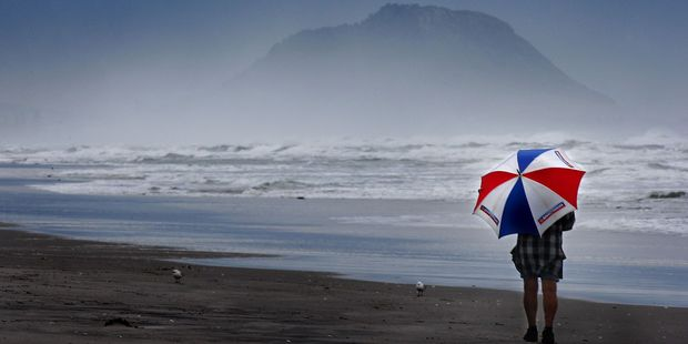Warm, wet and windy weather is expected in Tauranga this weekend. Photo/File