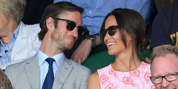 Loading Pippa Middleton and her boyfriend James Matthews are engaged. Photo / Getty Images